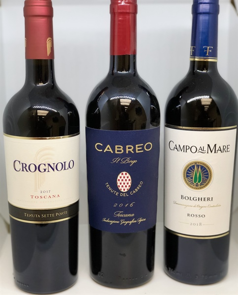 Super Tuscan Discounts and Virtual Tasting
